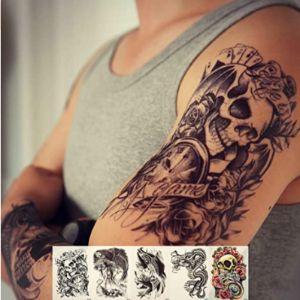 Zzurcca Elbow Tattoo Design