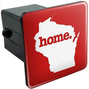 Graphics And More Wisconsin Trailer Hitch Cover