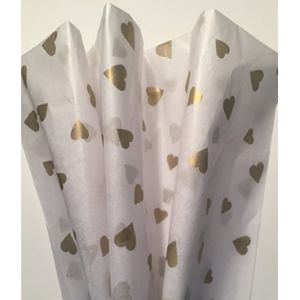 Rustic Pearl Collection Tissue Paper Heart
