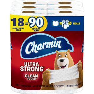 Charmin Tissue Paper Size