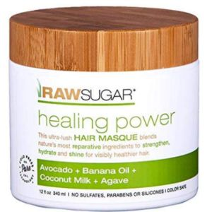 Raw Sugar Living Hair Mask With Avocado