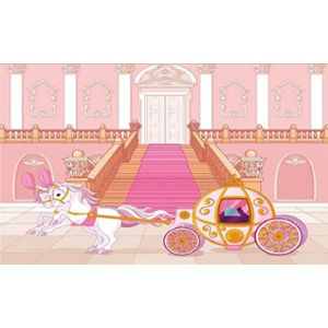 Leowefowa Baby Carriage Cartoon