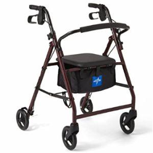 Medline Rolling Walker Transport Chair