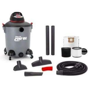Shopvac Wet Dry Vac With Pump