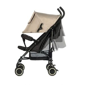 Evezo Fully Reclines Lightweight Stroller