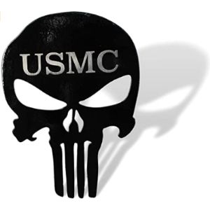 Fox Metalfab Usmc Trailer Hitch Cover