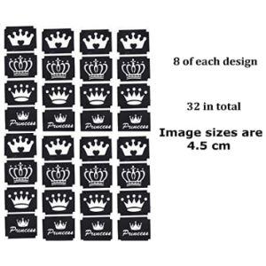 Kazcreations Crown Tattoo Stencil