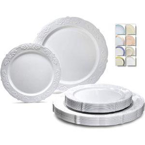 Occasions Finest Plastic Tableware Pressure Plate Design