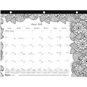 Blueline September 2019 Calendar