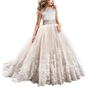 Fymnsi Flower Girl Ball Gown