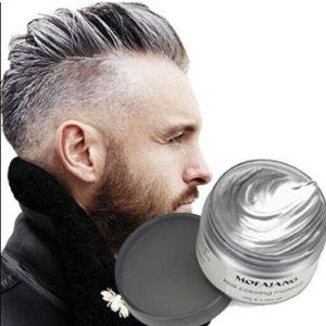 Yhmwax Grey Halloween Dye Beard