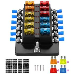 Weiruixin Automotive Fuse Box With Relays