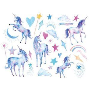 Sanerlian Unicorn Tattoo Design
