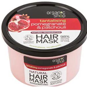 Organic Shop Pomegranate Patchouli Hair Mask