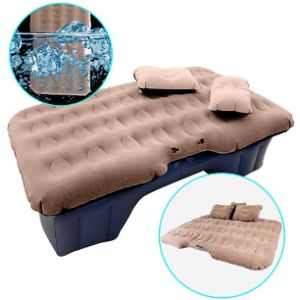 Hiraliy Inflatable Car Air Mattress With Pump