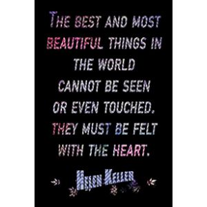 Poster Foundry Helen Keller Famous Quote