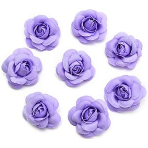 Artificial Flowers Purple Name Ball Flower