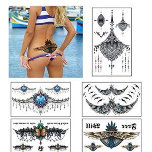 Viwieu Chest Henna Tattoo