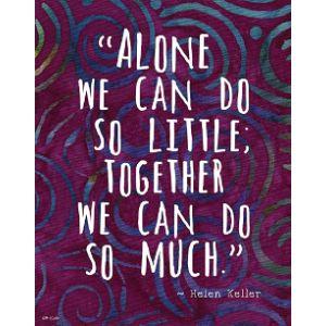 Artdash Helen Keller Famous Quote