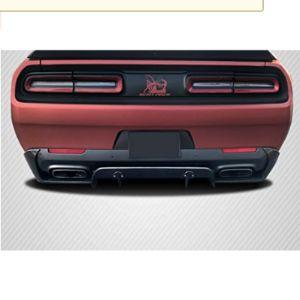 Brightt Challenger Rear Bumper Diffuser