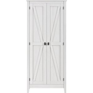 Ameriwood Home S White Towel Cabinet