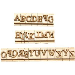 Hicello Font Leather Stamp