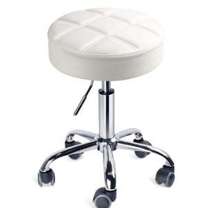 Leopard Mat Carpet Rolling Chair