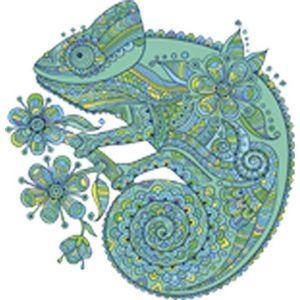 Shinobi Stickers Beautiful Henna Design