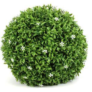 3Rd Street Inn White Tree Flower Ball