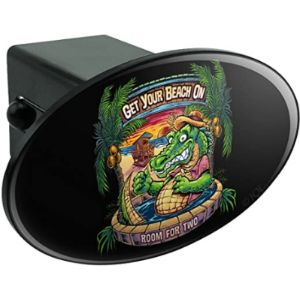 Graphics And More Gator Trailer Hitch Cover