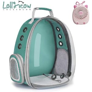 Lollimeow Backpack Pet Carrier Airline Approved
