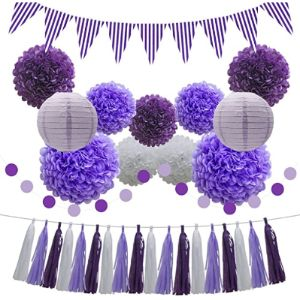 Kaxixi Purple Tassel Garland