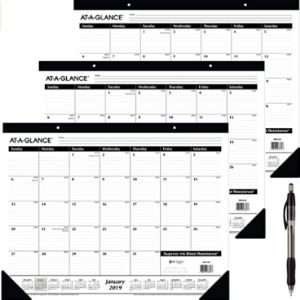 Ataglance January Calendar 2019