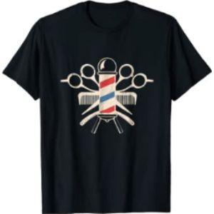 Vintage Barber Tee Shirts & Gifts Vintage Barber Scissors