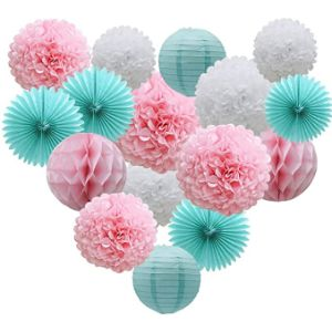 Adlkgg Tissue Paper Flower Decoration