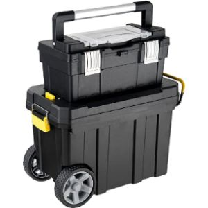 Goplus Plastic Mobile Tool Box