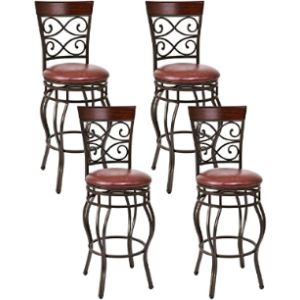 Costway Bar Stool Chair Set