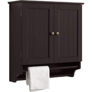 Yaheetech Bar Cabinet Towel