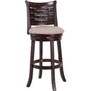 New Classic Furniture Cherry Swivel Bar Stool