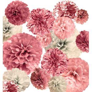 Visit The Vinant Store Pom Backdrop Tissue Paper Pom