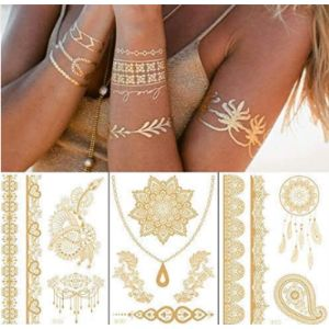 Ditdili Henna Tattoo Sticker