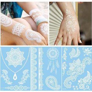Ditdili White Henna Temporary Tattoo
