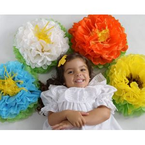 Coaster Labs Large Tissue Paper Flower