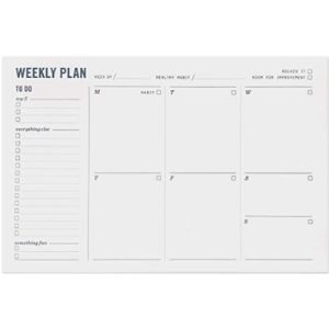 Two Tumbleweeds Weekly Schedule Organizer