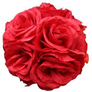 Craft And Party Red Flower Ball