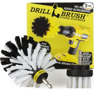 Drill Brush Power Scrubber By Useful Products Upholstery Cleaner Car Washes