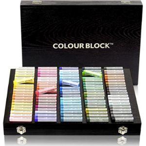 Colour Block Painting Chalk Pastel