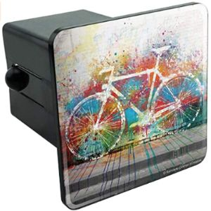 Graphics And More Bicycle Trailer Hitch Cover
