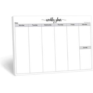 321Done Weekly Schedule Organizer
