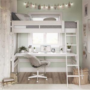 Dorel Living Integrated Desk And Durable Ladder